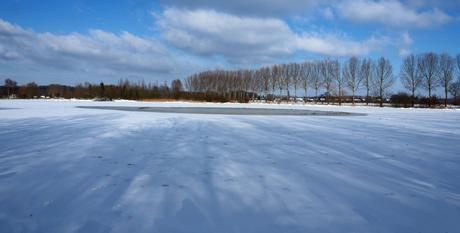 Winter landschapsfoto