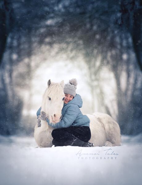 Warme winter knuffels