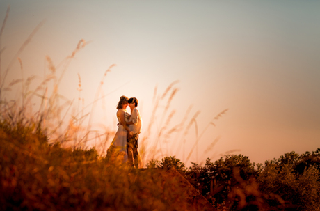 sunset at your wedding