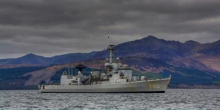 M - fregat in Schotland - Foto genomen tijdens mijn verblijf in schotland - foto door sven-huybens op 16-05-2011 - deze foto bevat: marine
