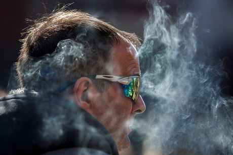 Smoke get's in your eyes....