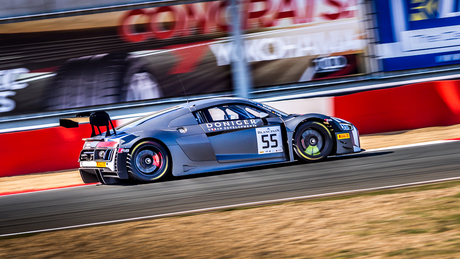 Audi R8 at Zolder