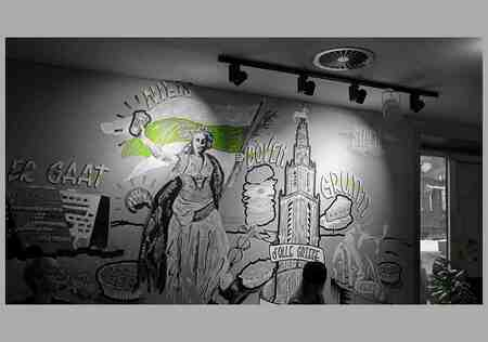 Ze Zeggen . . - GRONINGEN - Het Forum . .   Ze zeggen . . . Er gaat niets boven Grunningen...   Zeggen wij ook.. Fryslân Boppe.... - foto door 1103 op 09-07-2020 - deze foto bevat: fantasie, groningen, creatief, wallpaper, Het Forum