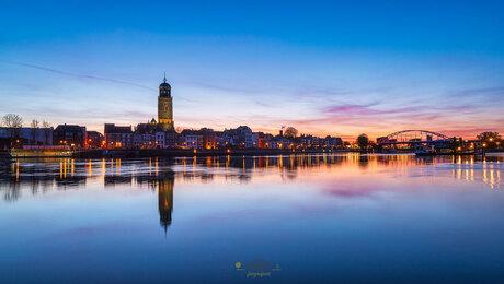Wakker worden aan de IJssel stille zaterdag