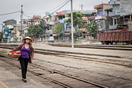 Vietnam - trainstation