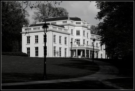 Het witte huis in sonsbeekpark, Arnhem