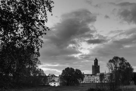 Vergezicht op Arnhem