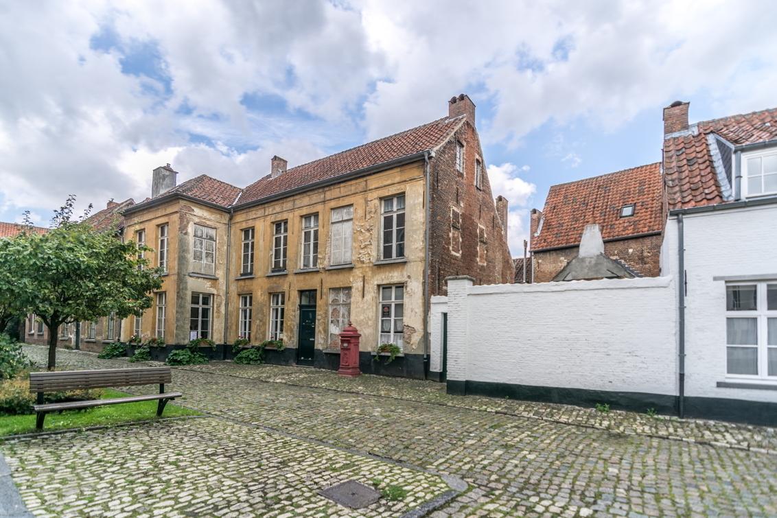 Begijnhofhuizen - - - foto door Foonmaster op 14-10-2017 - deze foto bevat: belgie, begijnhof, lier