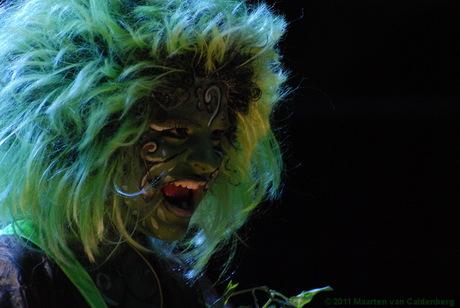 De plant in de musical Little Shop of Horrors