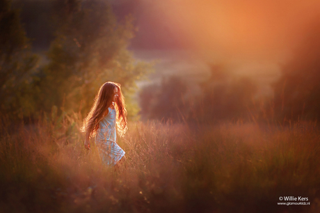 The magic of sunset