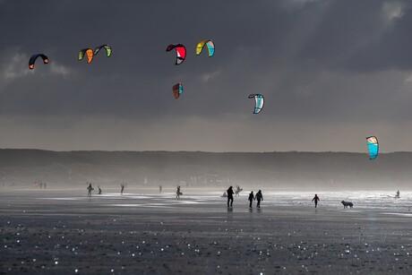 IJmuiden kite surfen (1)