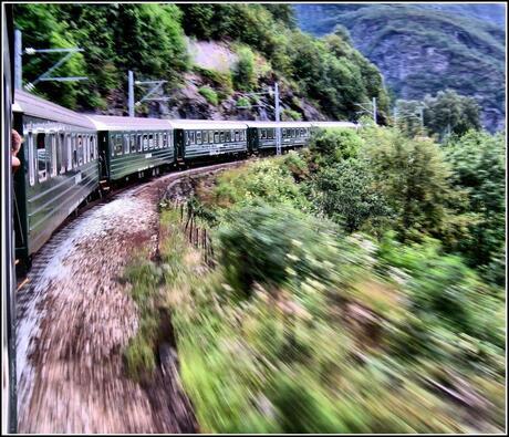 trein naar Flam