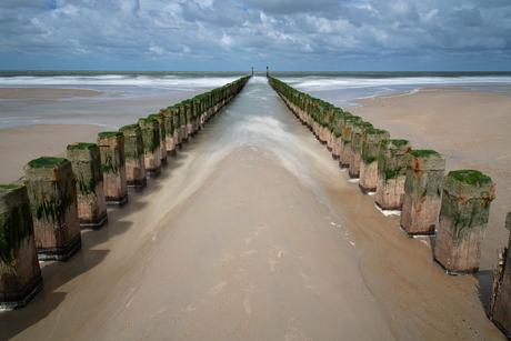 Paalhoofd strand Haamsteden.