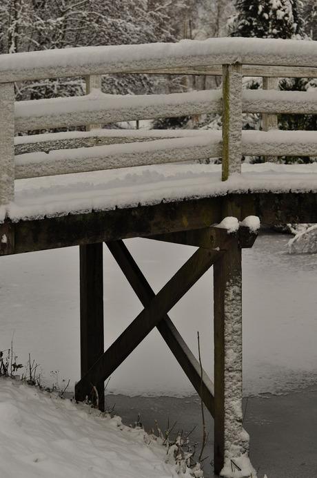Houten brug
