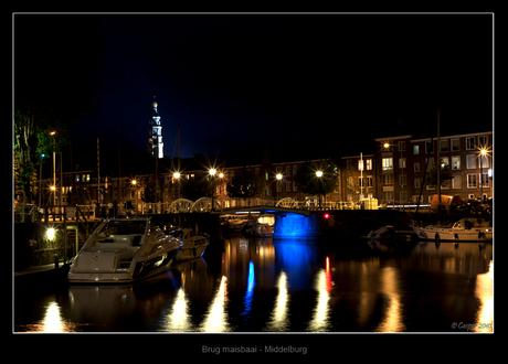 Brug Maisbaai Middelburg