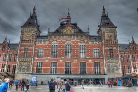 Amsterdam CS in HDR