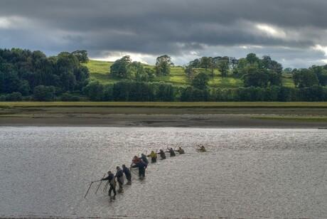 Haaftfishing in Schotland