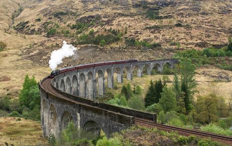 The Glenfinnan viaduct!