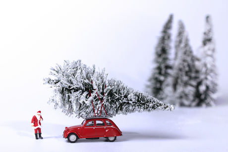 klaar voor de kerst