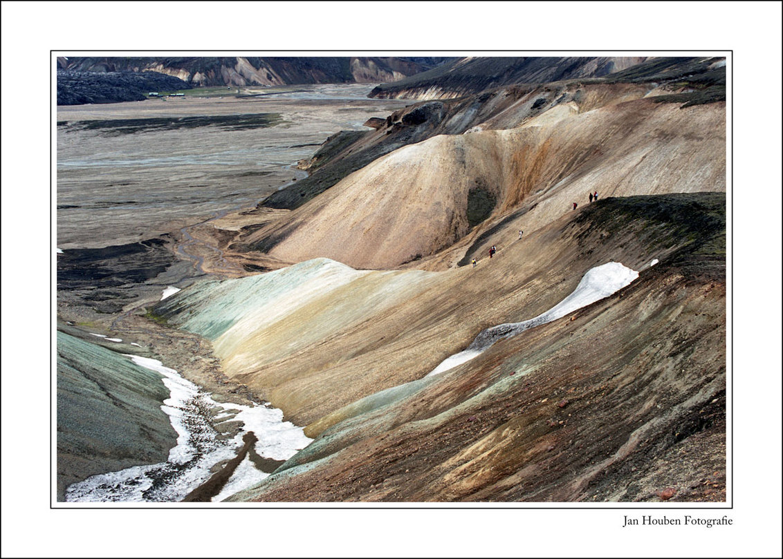 IJsland (2-34) - Landmannalaugar  Analoog: Camera: CANON A1 Negatieffilm: FUJICOLOR REALA 100 - foto door JanHouben op 06-03-2021