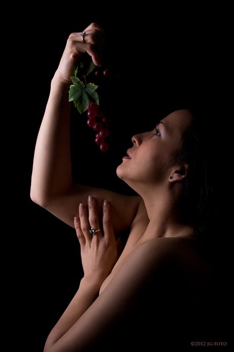 Donkere druiven