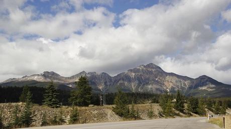 Onderweg in Jasper National Park , Canada