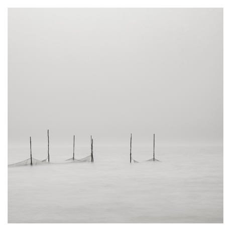 Houtribdijk minimalistisch