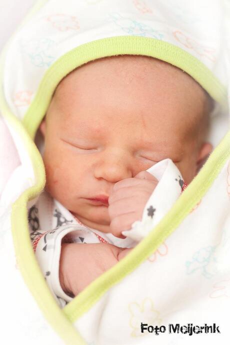 New born newphew