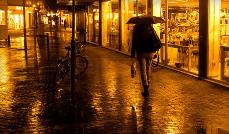 shopping in the dark