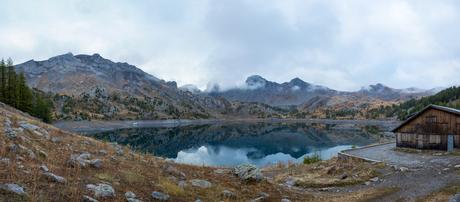 Lac d'Allos vanuit refuge du lac