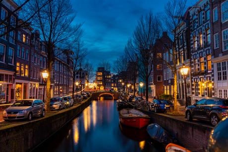 Blauwburgwal Amsterdam