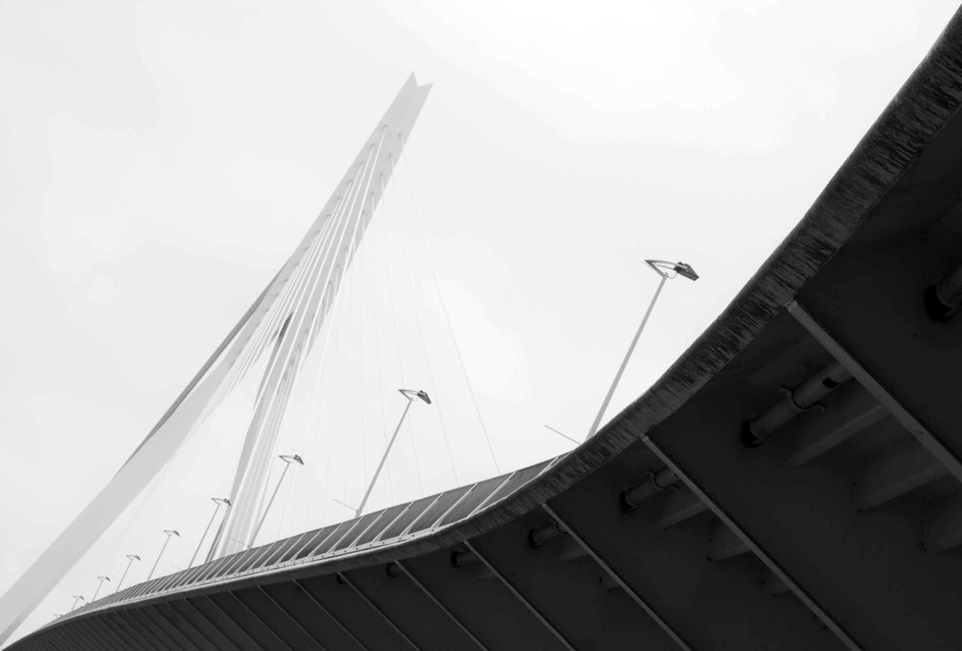 Rotterdam 5 - Slecht zicht op de Zwaan. - foto door nak-kos op 29-06-2011 - deze foto bevat: rotterdam, regen, zwaan, tuien