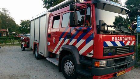 Ex. brandweerwagen van Oostvoorne