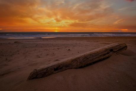 Sunset at Duinoord