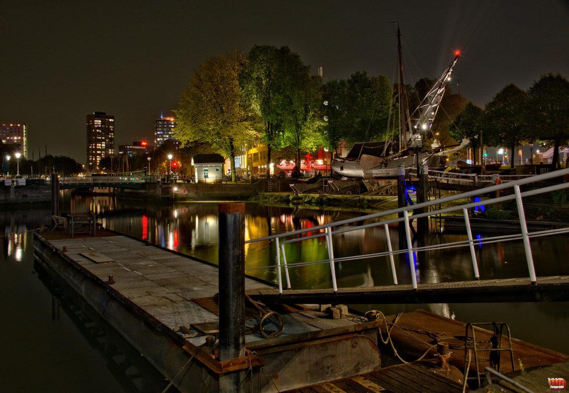 Rotterdam by night 4 - - - foto door wd1956 op 23-04-2019