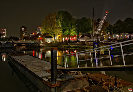 Rotterdam by night 4