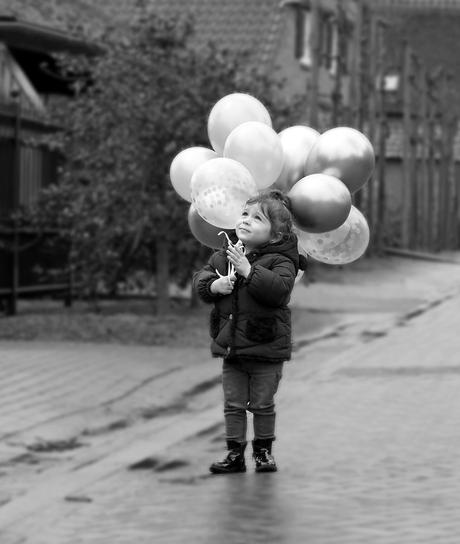 Ballon voor oma