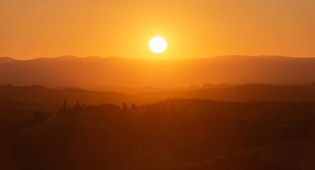 Chiusure bij zonsondergang ...
