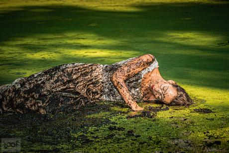 Resting in mud...