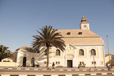Oude kerk in Swakopmund