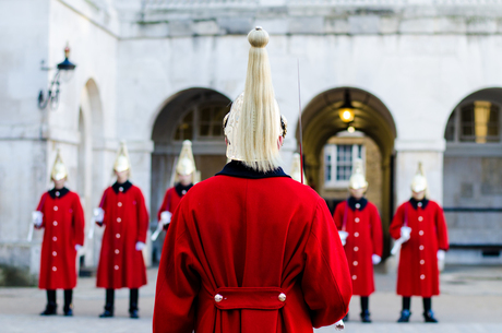 Mounted Troopers of the Household Cavalry