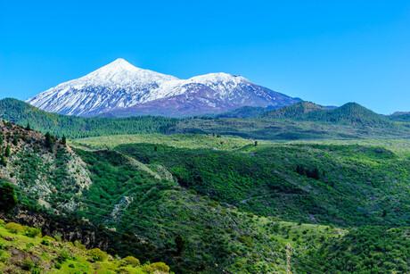De berg El Teide