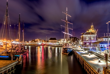 Harlingen by night