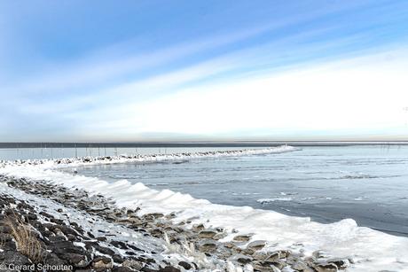 Ijsselmeer on ice