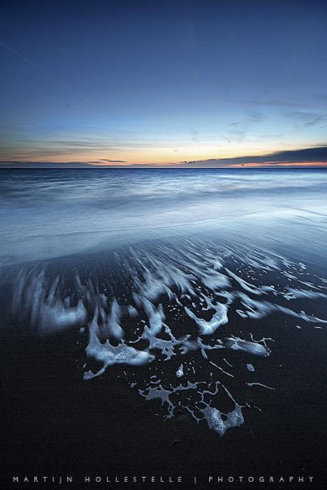 Het Schuim van de Terugtrekkende Zee