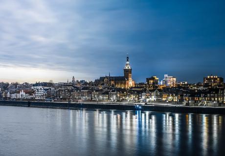 Van dag naar nacht in Nijmegen