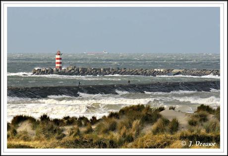 Noorder pier IJmuiden.