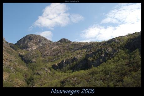 Noorwegen nabij Manafossen