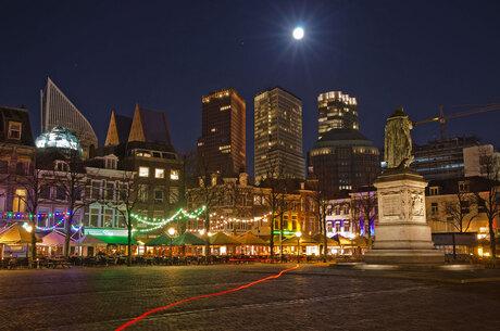 Het plein in Den Haag