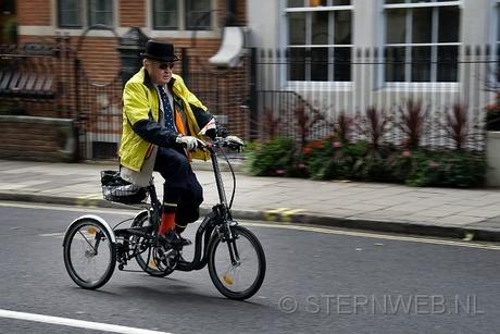 Biker in London
